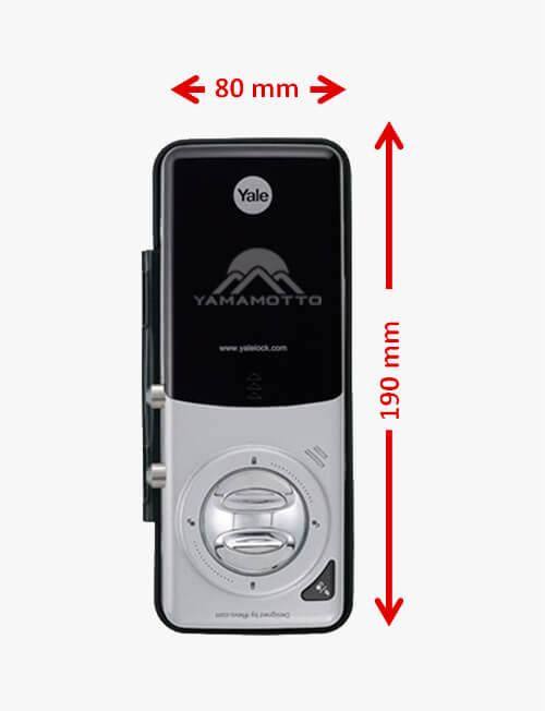 Fechadura Digital Yale - YDG 313 Porta Dupla